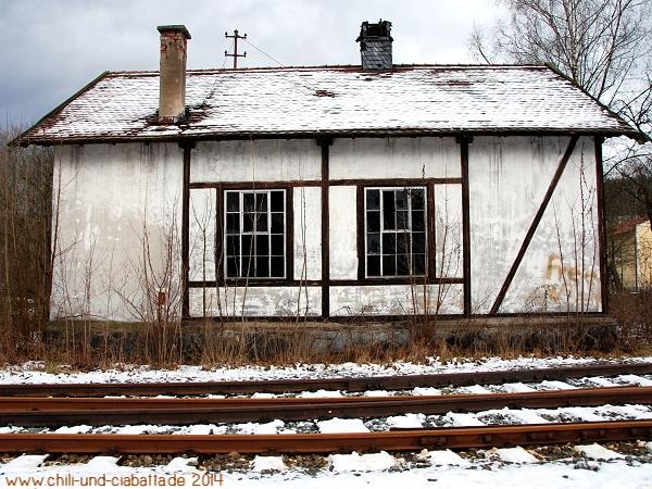 LP Lokschuppen Teisnach Winter 2012