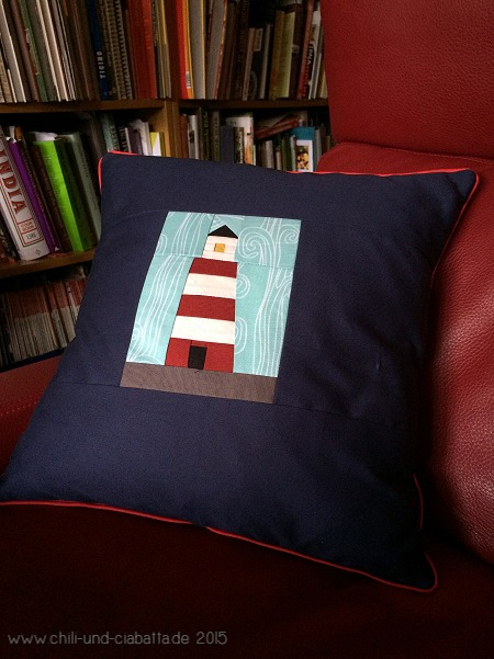 Leuchtturm-Kissen
