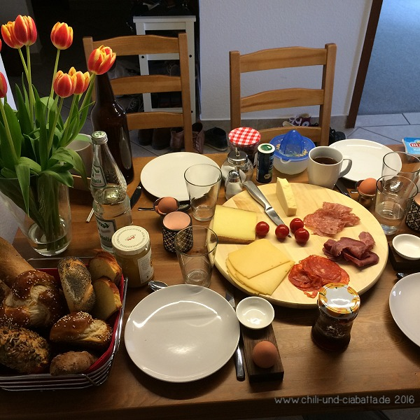 Sonntagsfrühstück bei Frani