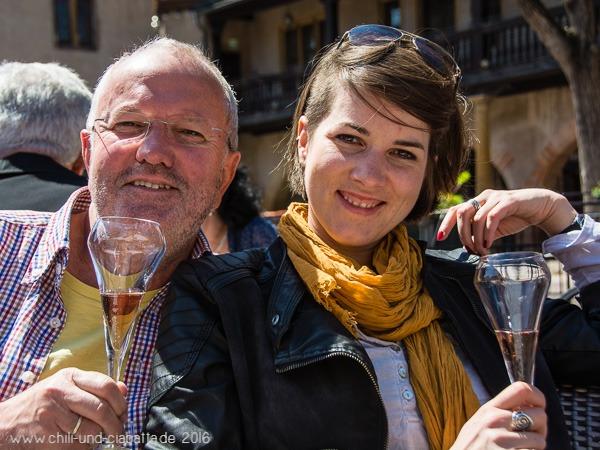 Kathi und Helmut in Colmar