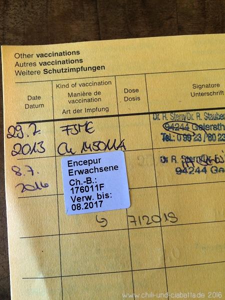 Zeckenimpfung
