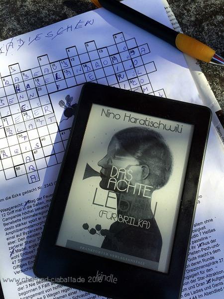 Kreuzworträtsel und Lektüre