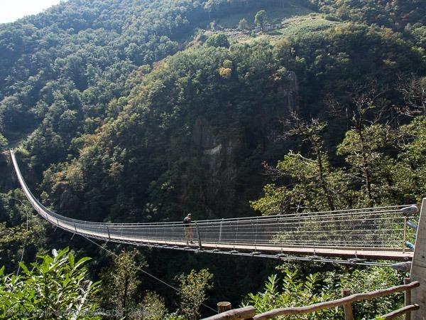 Helmut auf der Brücke
