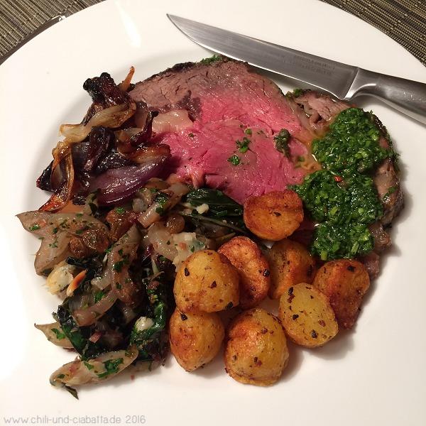 Rib Roast aus dem Steinbackofen Fine Cooking