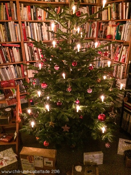 Generalprobe Weihnachtsbaum