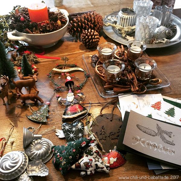 Weihnachtsdeko abgebaut