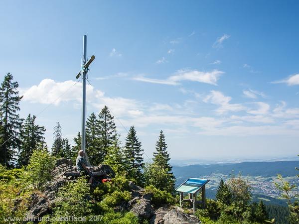 Gipfelrast Schwarzeck