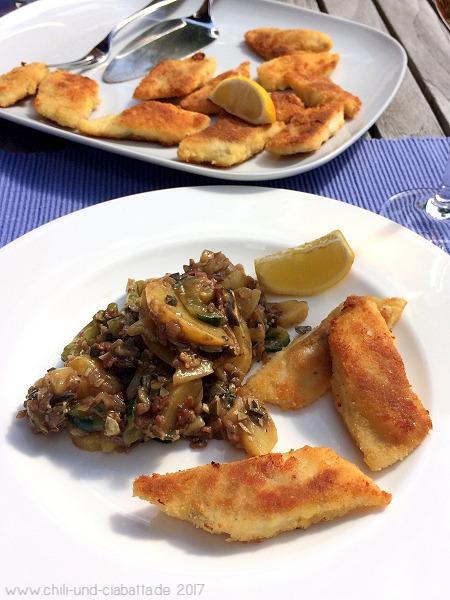 Knusprige Forellenrauten mit steirischem Kartoffelsalat