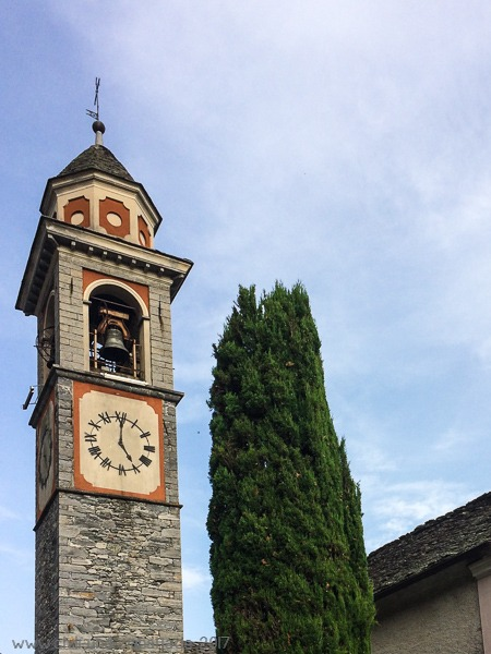 Kirchturm Cavigliano