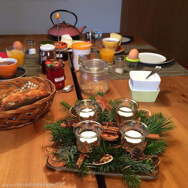 Adventsfrühstück