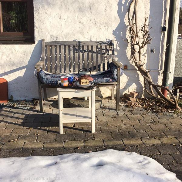 Kuchen draußen