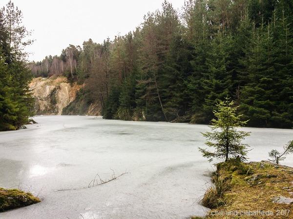 Steinbruchsee am Flinzbach