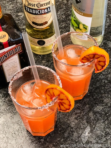 Blutorangen-Margarita