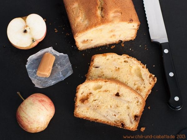 Apfel-Karamell-Kuchen