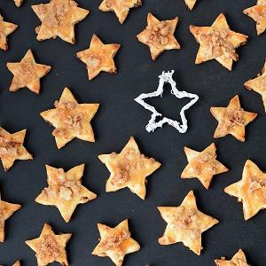 Apfel-Zimt-Sterne