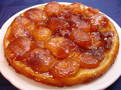 tarte tatin with fleur de i really strongly urge you to la tarte tatin ...