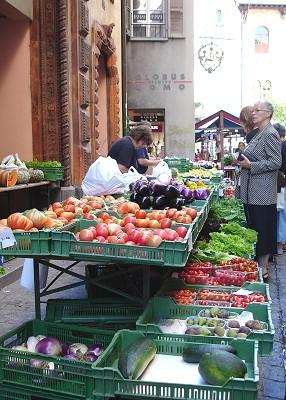 Gemüsestand