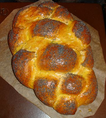 Challah nach dem Backen