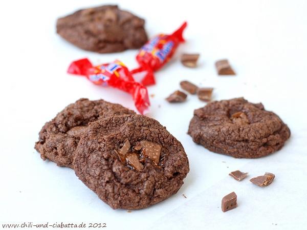 Schokoladen-Daim-Cookies
