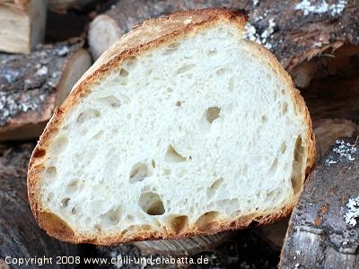 Gunnison River Bread, aufgeschnitten