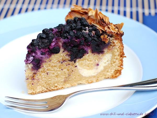 Heidelbeer-Quark-Kuchen