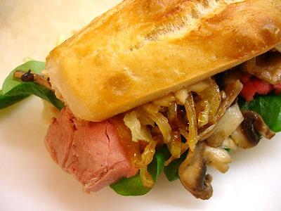 fertige Sandwiches
