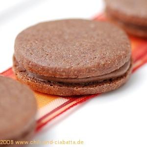 Mokka-Doppeldecker-Kekse