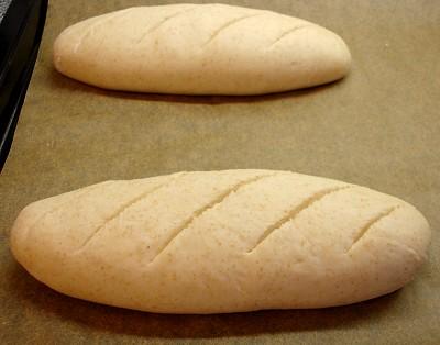 geformte Brotlaibe