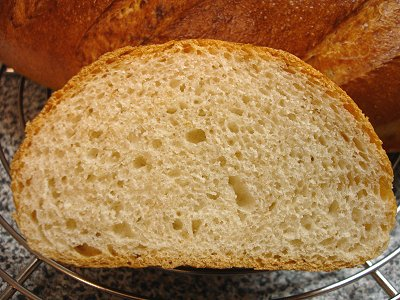 Wiener Brot, aufgeschnitten