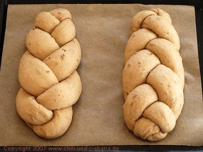 the braided loaves