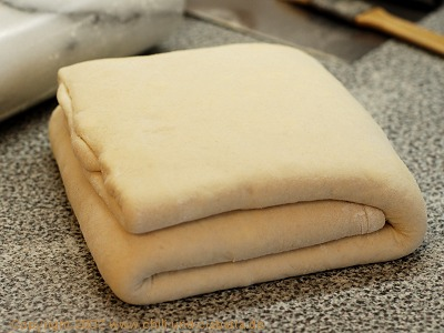 folded dough