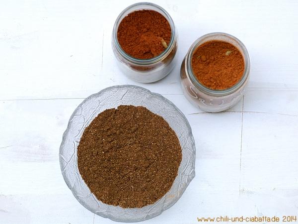 Vergleich mit gekauftem Curry