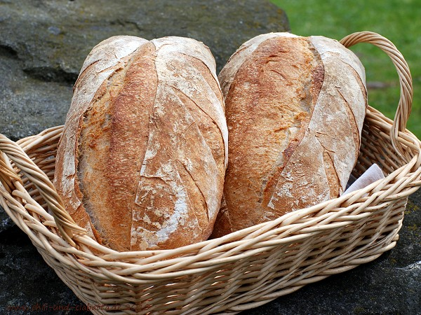 Rustikales Brot nach Hamelman