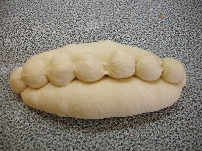 geformtes Brot