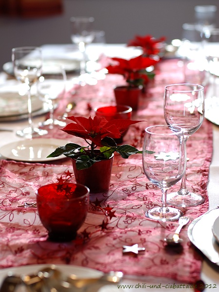 Weihnachts-Tischdeko