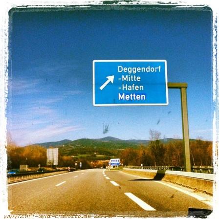 Bayerwald in Sicht