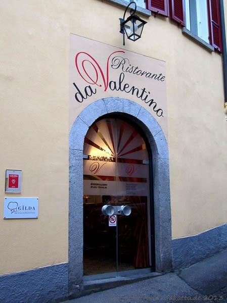 Ristorante da Valentino, Locarno