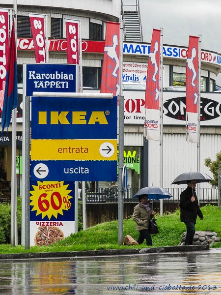 Ikea, Grancia bei Lugano