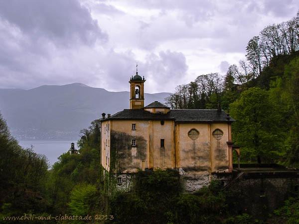 Sacro Monte dell'Addolorata bei Brissago