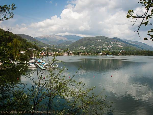 Ausblick vom Giro Monte Caslano