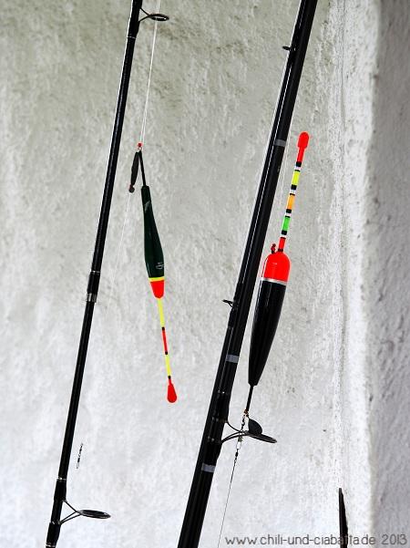 Vorbereitet zum Hegefischen
