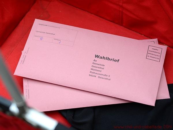Wahlbriefe Europawahl