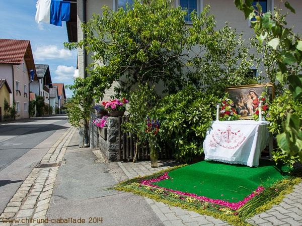 Fronleichnam-Altar