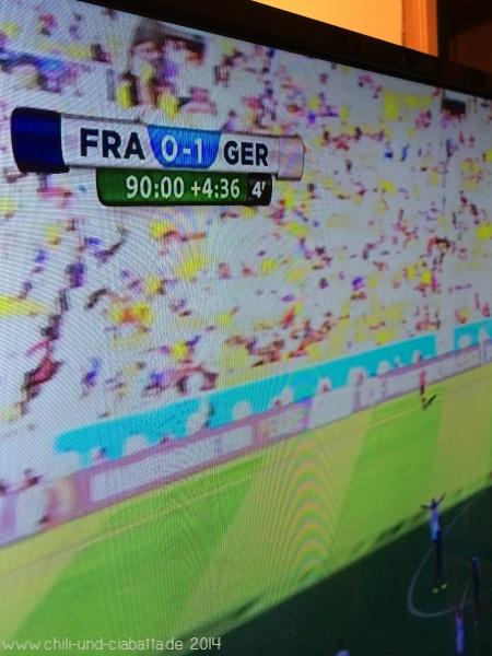 Deutschland:Frankreich 1:0