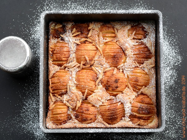 Lafers Apfel-Sandkuchen