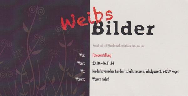 Ausstellung Weibsbilder