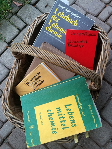 Ausmisten Bücher Studium