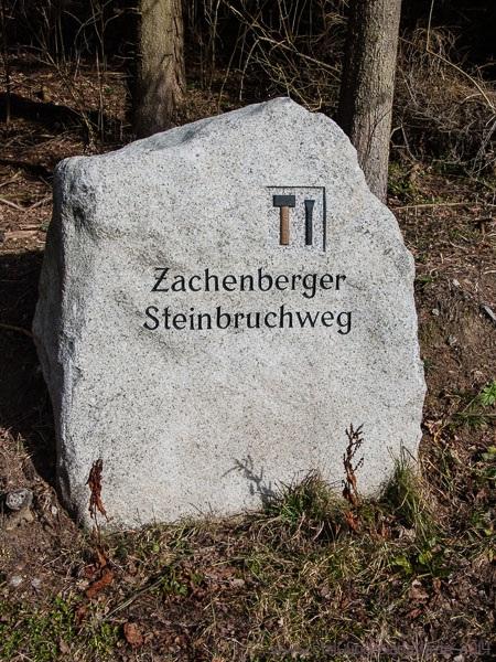 Zachenberger Steinbruchweg