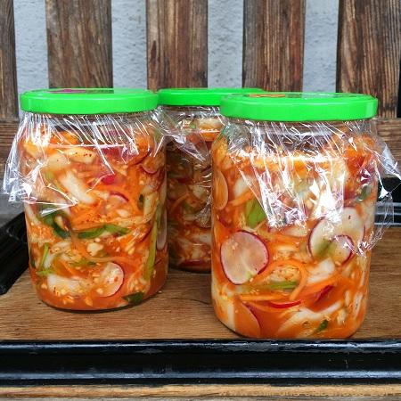 Kimchi-Nachschub