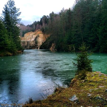 Steinbruchsee beim Flinzbach